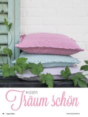 Häkelanleitung - Träum schön - Kissen - Happy Häkeln 01/2018