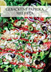 Rezept - Gebackene Paprika mit Feta - Gesund & fix kochen mit dem Thermomix® 03/2018