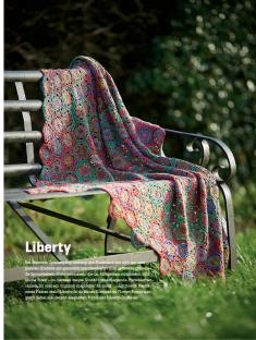 Häkelanleitung - Liberty - Simply Kreativ Häkel dir deine Regenbogendecke 02/2018