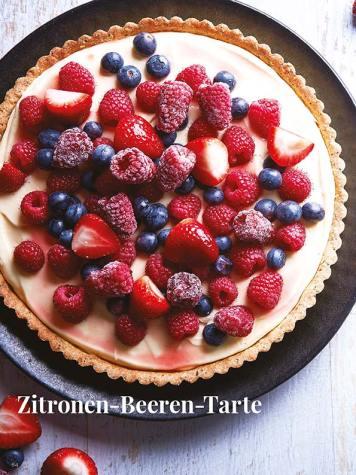 Rezept - Zitronen-Beeren-Tarte - Simply Kreativ – Neue Rezepte für den Thermomix® 03/18