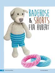 Häkelanleitung - Badehose und Shorts für Hubert - Tierische Freunde häkeln 02/2018