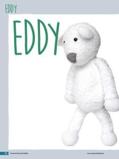 Häkelanleitung - Eisbär Eddy - Tierische Freunde häkeln 02/2018
