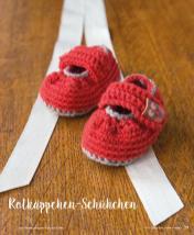 Häkelanleitung - Rotkäppchen Schühchen - Mini Häkeln Vol. 2