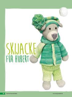Häkelanleitung - Skijacke für Hubert- Tierische Freunde häkeln 02/2018