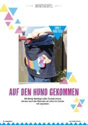 Nähanleitung - Auf den Hund gekommen - Simply Nähen - 03/2018