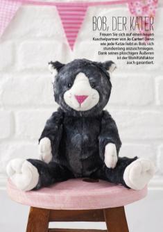 Nähanleitung - Bob der Kater - Simply Nähen - 03/2018