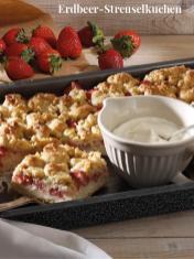 Rezept - Erdbeer-Streuselkuchen - Simply Kreativ Erdbeeren- und Spargel-Rezepte für den Thermomix®