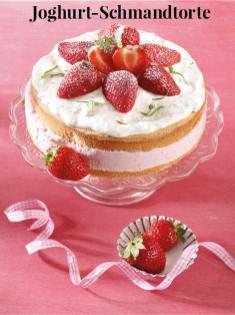 Rezept - Joghurt-Schmandtorte - Simply Kreativ Erdbeeren- und Spargel-Rezepte für den Thermomix®