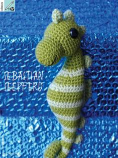 Häkelanleitung - Sebastian Seepferd - Simply Kreativ - 0318