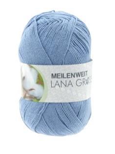 Lana Grossa Meilenweit Solo Cotone unito Farbe 3470