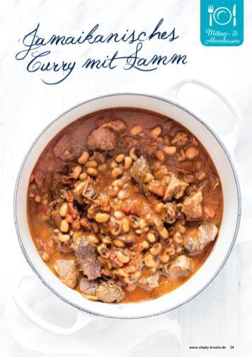 Rezept - Jamaikanisches Curry mit Lamm - Gesund und fix mit dem Thermomix - 0418