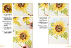 Malanleitung - Sonnenblume - Deine Malschule Teil 2