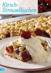 Rezept - Kirsch-Streuselkuchen - Simply Backen mit dem Thermomix® 04/2018