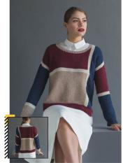 Strickanleitung - Slide Pullover - Happy Stricken 0318