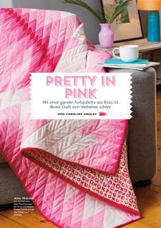 Nähanleitung - Pretty in Pink - Patchwork 04/2018