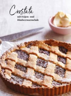 Rezept - Crostata mit Feigen und Himbeermarmelade - Simply Kreativ - Neue Rezepte für den Thermomix® - 04/2018