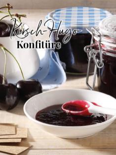 Rezept - Krisch-Hugo-Konfitüre - Simply Kreativ - Neue Rezepte für den Thermomix® - 04/2018