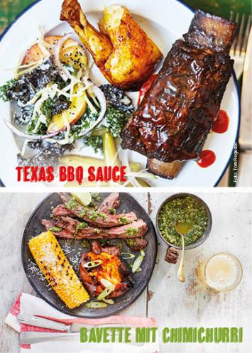 Rezept - Texas BBQ Sauce & Bavette mit Chimichurri - Weekly Kochen Extra - 01/2018