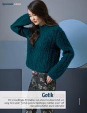 Strickanleitung - Gotik to go - Fantastische Herbst-Strickideen - 04/2018