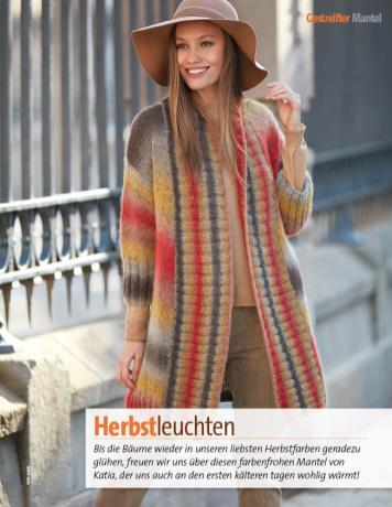 Strickanleitung - Herbstleuchten - Fantastische Herbst-Strickideen - 04/2018