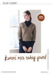 Strickanleitung - Komm' mir ruhig quer - Simply Stricken - 06/2018