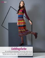 Strickanleitung - Lieblingsfarbe Bunt - Fantastische Herbst-Strickideen - 04/2018