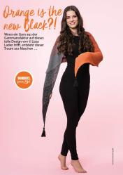 Strickanleitung - Orange is the new Black - Simply Stricken 05/2018