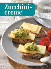 Rezept - Zucchinicreme - Simply Kreativ - Brot backen - Sonderheft - 01/2019
