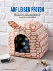 Nähanleitung - Auf leisen Pfoten - Simply Kreativ Geschenkideen + Accessoires Näh-Sonderheft 01/2018