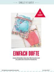 Nähanleitung - Einfach Dufte - Simply Kreativ Geschenkideen + Accessoires Näh-Sonderheft 01/2018