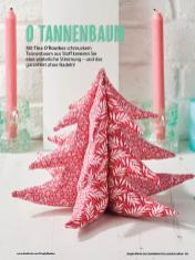 Nähanleitung - O Tannenbaum - Simply Kreativ Geschenkideen + Accessoires Näh-Sonderheft 01/2018