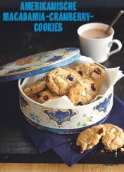 Rezept - Amerikanische Macadamia-Cranberry-Cookies - Simply Kochen Special Weichnachtsgebäck - 01/2018