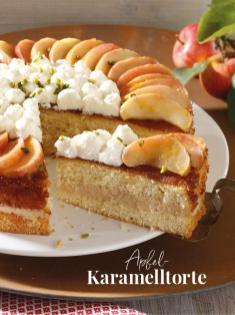 Rezept - Apfel-Karamelltorte - Simply Kreativ Äpfel-und Pflaumen-Rezepte für den Thermomix® 05/2018