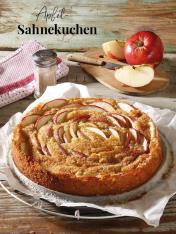 Rezept - Apfel-Sahnekuchen - Simply Kreativ Äpfel-und Pflaumen-Rezepte für den Thermomix® 05/2018