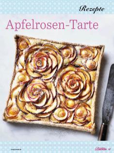 Rezept - Apfelrosen-Tarte - Das große Backen - 09/2018