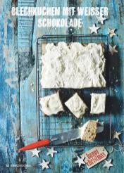 Rezept - Blechkuchen mit weißer Schokolade - Simply Kochen Special Weichnachtsgebäck - 01/2018