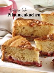 Rezept - Buttermilch-Pflaumenkuchen - Simply Kreativ Äpfel-und Pflaumen-Rezepte für den Thermomix® 05/2018