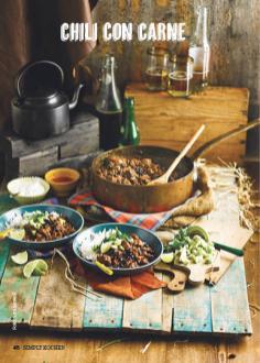 Rezept - Chili con Carne - Simply Kochen Suppen & Eintöpfe 01/2018