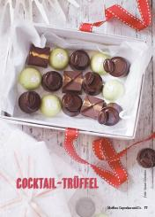 Rezept - Cocktail-Trüffel - Simply Kochen Special Weichnachtsgebäck - 01/2018