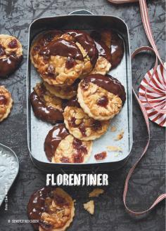 Rezept - Florentiner - Simply Kochen Special Weichnachtsgebäck - 01/2018