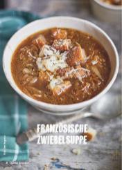 Rezept - Französische Zwiebelsuppe - Simply Kochen Suppen & Eintöpfe 01/2018