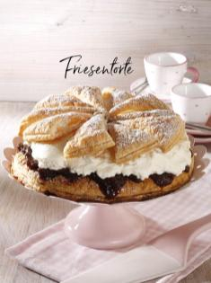Rezept - Friesentorte - Simply Kreativ Äpfel-und Pflaumen-Rezepte für den Thermomix® 05/2018