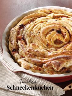 Rezept - Fruchtiger Schneckenkuchen - Simply Kreativ Äpfel-und Pflaumen-Rezepte für den Thermomix® 05/2018