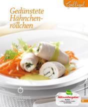 Rezept - Gedünstete Hähnchen-Röllchen - Simply Kochen mini – Rezepte für den Thermomix® 05/18