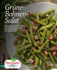 Rezept - Grüne-Bohnen-Salat - Simply Kochen mini – Rezepte für den Thermomix® 05/18