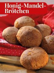 Rezept - Honig-Mandel-Brötchen - Simply Kreativ - Brot backen - Sonderheft - 01/2019