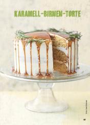 Rezept - Karamell-Birnen-Torte - Simply Kochen Special Weichnachtsgebäck - 01/2018