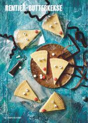 Rezept - Rentier-Butterkekse - Simply Kochen Special Weichnachtsgebäck - 01/2018