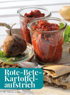 Rezept - Rote-Bete-Kartoffel-aufstrich - Simply Kreativ - Brot backen - Sonderheft - 01/2019