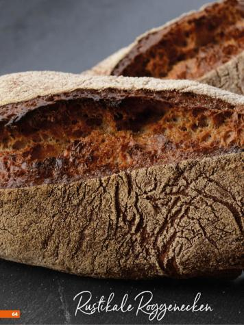 Rezept - Rustikale Roggenecken - Simply Backen Sonderheft Brotdoc 01/2018